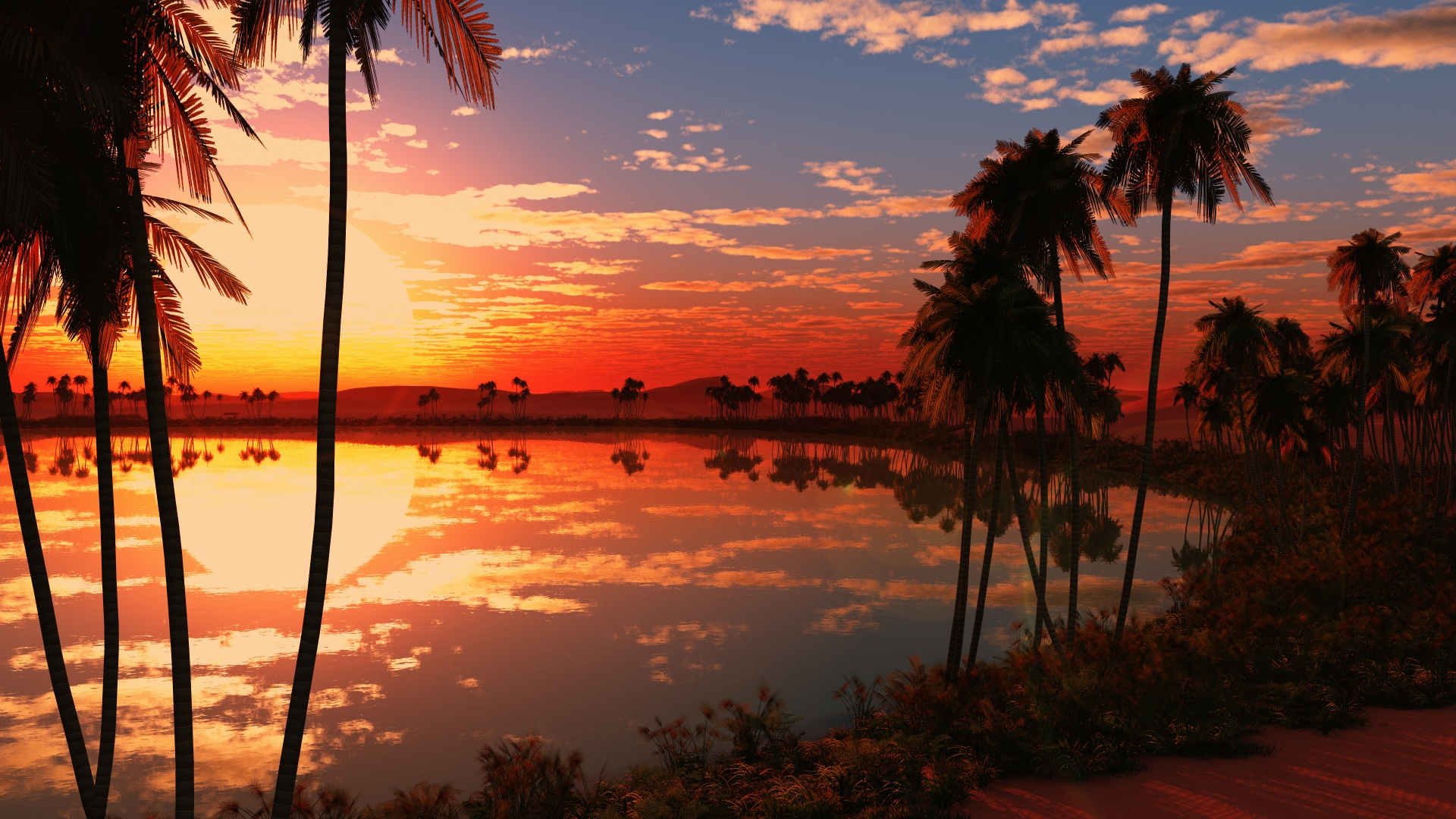 -downloadfiles-wallpapers-1920_1080-beautiful_lake_sunset_17104