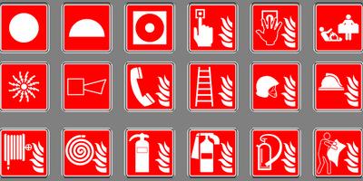 Знаци - пожарна безопасност